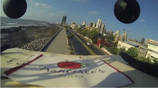 mumbai-pizza-outlets-delivers-pizza-using-drone