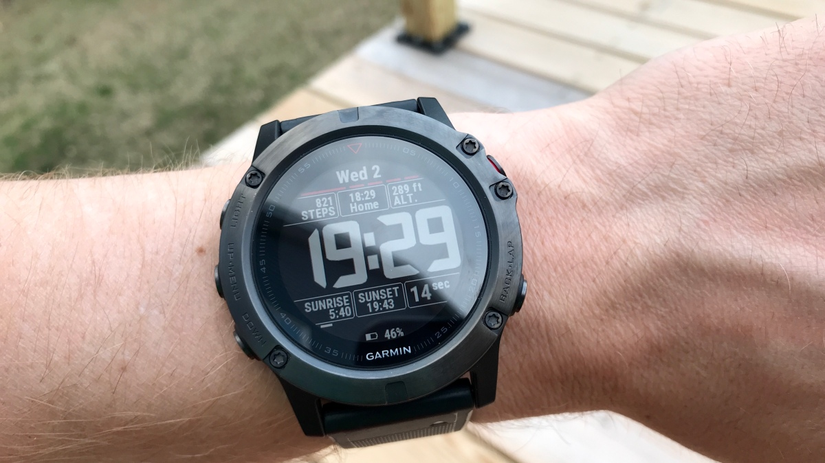 Garmin Fenix 5x Review