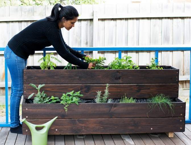 DIY Herb Garden - thespiceadventuress.com