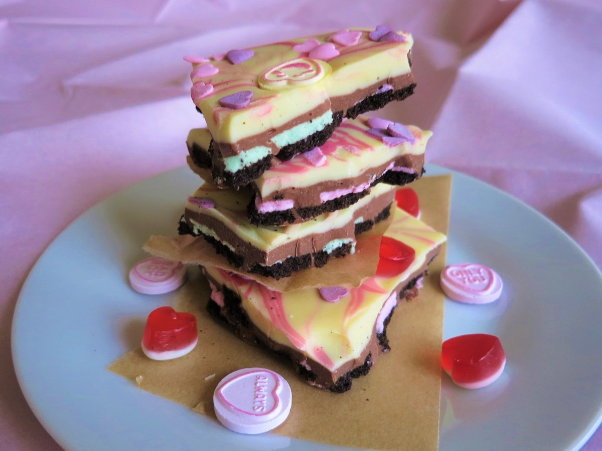 Recipe | Valentine's oreo chocolate bark