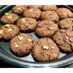 3| Cooking| Whole Wheat Eggless Chocolate Cookies Recipe