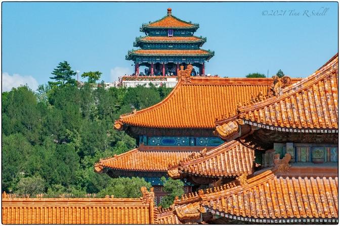 beijing, rooftops, China