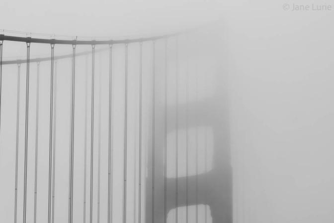 San Francisco, Golden Gate Bridge, Photography, Fog, Fujifilm X-T2, Black and White,